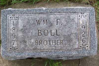 BOLL, WM. F. - Lyon County, Iowa   WM. F. BOLL
