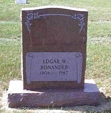 BONANDER, EDGAR W. - Lyon County, Iowa | EDGAR W. BONANDER