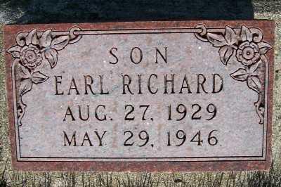BOON, EARL RICHARD - Lyon County, Iowa | EARL RICHARD BOON