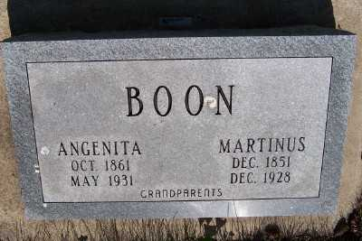 BOON, ANGENITA - Lyon County, Iowa | ANGENITA BOON