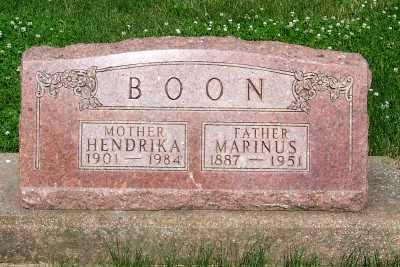 BOON, MARINUS - Lyon County, Iowa | MARINUS BOON
