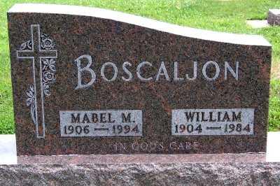 BOSCALJON, MABEL M. - Lyon County, Iowa | MABEL M. BOSCALJON