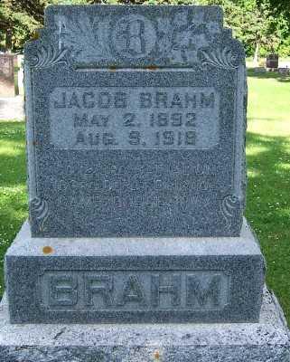 BRAHM, JACOB - Lyon County, Iowa | JACOB BRAHM