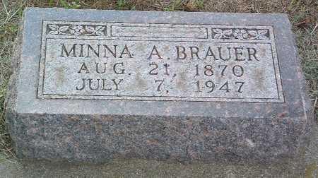 BRAUER, MINNA A. - Lyon County, Iowa | MINNA A. BRAUER