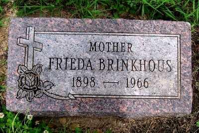BRINKHOUS, FRIEDA - Lyon County, Iowa | FRIEDA BRINKHOUS