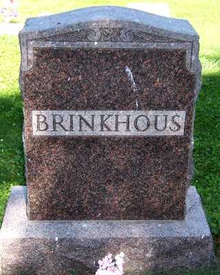 BRINKHOUS, FAMILY HEADSTONE - Lyon County, Iowa | FAMILY HEADSTONE BRINKHOUS