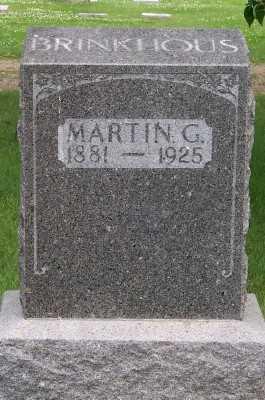 BRINKHOUS, MARTIN G. - Lyon County, Iowa | MARTIN G. BRINKHOUS