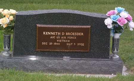 BROESDER, KENNETH D. - Lyon County, Iowa | KENNETH D. BROESDER