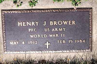 BROWER, HENRY J. - Lyon County, Iowa | HENRY J. BROWER
