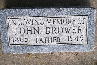 BROWER, JOHN - Lyon County, Iowa | JOHN BROWER
