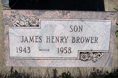 BROWER, JAMES HENRY - Lyon County, Iowa | JAMES HENRY BROWER