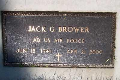 BROWER, JACK G. - Lyon County, Iowa | JACK G. BROWER