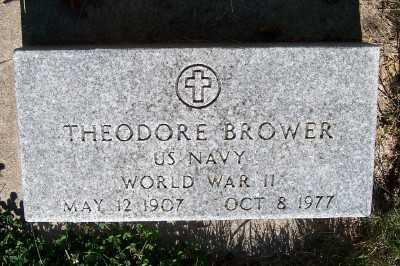 BROWER, THEODORE - Lyon County, Iowa   THEODORE BROWER