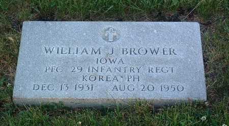 BROWER, WILLIAM J. - Lyon County, Iowa   WILLIAM J. BROWER
