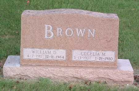 BROWN, CECELIA M. - Lyon County, Iowa | CECELIA M. BROWN