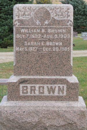 BROWN, WILLIAM B. - Lyon County, Iowa | WILLIAM B. BROWN