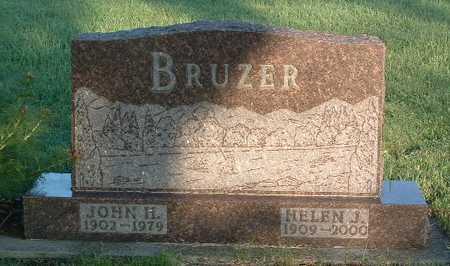BRUZER, HELEN J. - Lyon County, Iowa   HELEN J. BRUZER