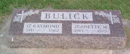 BULICK, G. RAYMOND - Lyon County, Iowa | G. RAYMOND BULICK