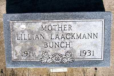 BUNCH, LILLIAN - Lyon County, Iowa   LILLIAN BUNCH