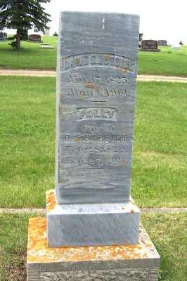 BURDICK, POLLY (MRS. D.S.) - Lyon County, Iowa | POLLY (MRS. D.S.) BURDICK