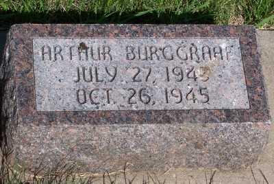 BURGGRAAF, ARTHUR - Lyon County, Iowa   ARTHUR BURGGRAAF