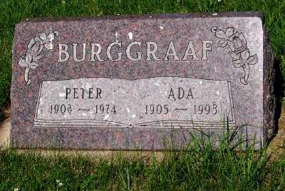 BURGGRAAF, PETER - Lyon County, Iowa | PETER BURGGRAAF