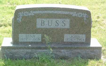 BUSS, JOHN - Lyon County, Iowa   JOHN BUSS