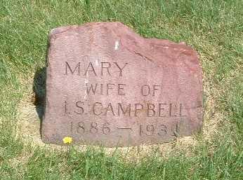 CAMPBELL, MARY - Lyon County, Iowa | MARY CAMPBELL