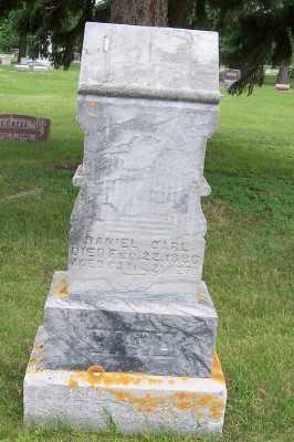 CARL, DANIEL - Lyon County, Iowa | DANIEL CARL