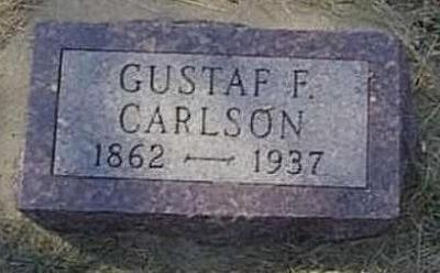 CARLSON, GUSTAF F. - Lyon County, Iowa | GUSTAF F. CARLSON