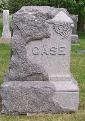 CASE, FAMILY HEADSTONE - Lyon County, Iowa   FAMILY HEADSTONE CASE