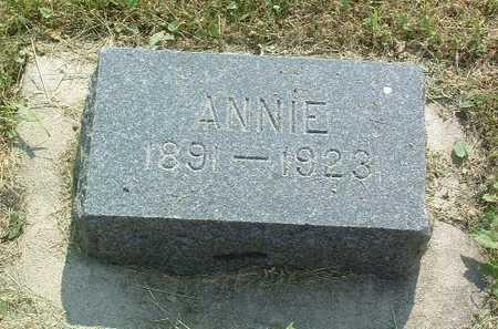 CHRISTIANS, ANNIE - Lyon County, Iowa   ANNIE CHRISTIANS