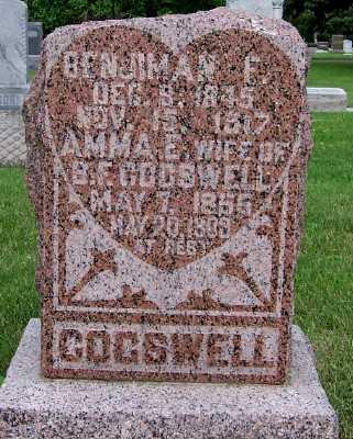 COGSWELL, AMMA E. (MRS. B.F.) - Lyon County, Iowa | AMMA E. (MRS. B.F.) COGSWELL