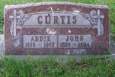 CURTIS, ADDIE - Lyon County, Iowa | ADDIE CURTIS