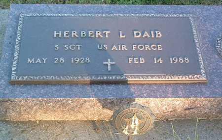 DAIB, HERBERT L. - Lyon County, Iowa | HERBERT L. DAIB