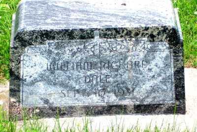 DALE, WILLIAM RICHARD - Lyon County, Iowa | WILLIAM RICHARD DALE