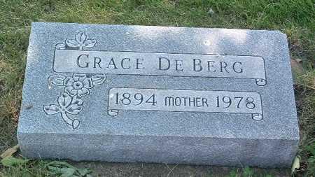 DE BERG, GRACE - Lyon County, Iowa | GRACE DE BERG