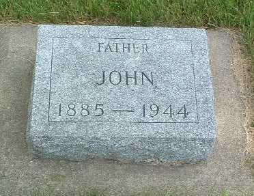 DE GRAAF, JOHN - Lyon County, Iowa | JOHN DE GRAAF