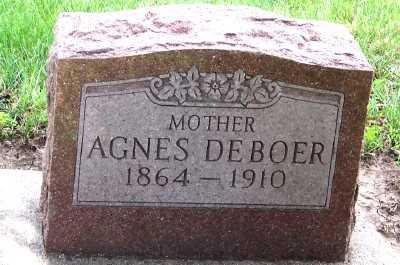 DEBOER, AGNES - Lyon County, Iowa | AGNES DEBOER