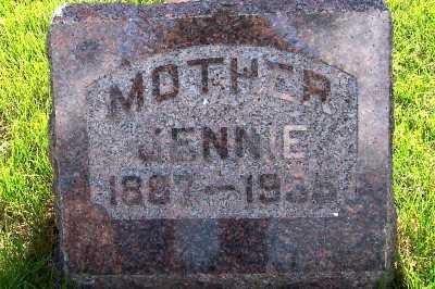 DEJONG, JENNIE (1887-1935) - Lyon County, Iowa   JENNIE (1887-1935) DEJONG