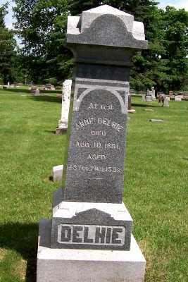 DELHIE, ANNE - Lyon County, Iowa | ANNE DELHIE
