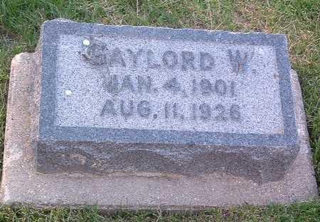 DICKINSON, GAYLORD W. - Lyon County, Iowa | GAYLORD W. DICKINSON