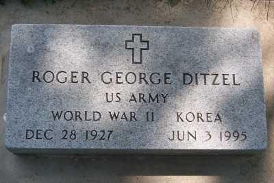 DITZEL, ROGER GEORGE - Lyon County, Iowa | ROGER GEORGE DITZEL