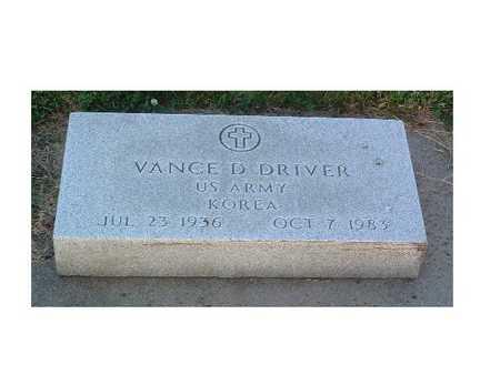 DRIVER, VANCE D. - Lyon County, Iowa | VANCE D. DRIVER