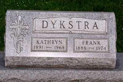 DYKSTRA, KATHRYN - Lyon County, Iowa | KATHRYN DYKSTRA