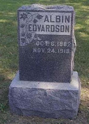 EDVARDSON, ALBIN - Lyon County, Iowa | ALBIN EDVARDSON