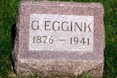 EGGINK, G. - Lyon County, Iowa | G. EGGINK