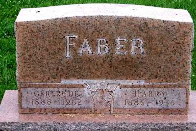 FABER, GERTRUDE - Lyon County, Iowa | GERTRUDE FABER