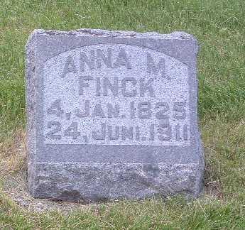 FINCK, ANNA M. - Lyon County, Iowa   ANNA M. FINCK
