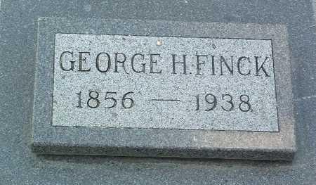 FINCK, GEORGE H. - Lyon County, Iowa | GEORGE H. FINCK